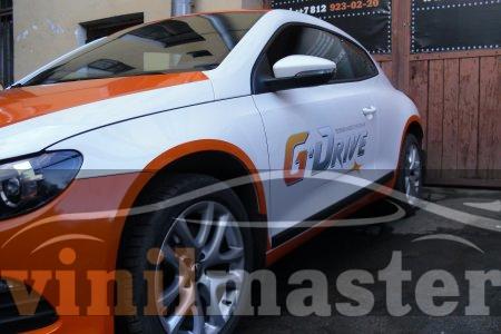 Брендирование авто для ГазПром