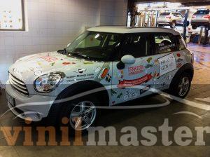 Брендирование авто для Ginza Project передний левый угол