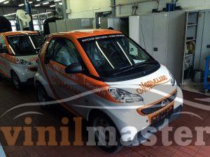 Брендирование авто для компании Марчеллис передний левый угол