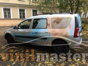 Оклейка авто для компании Бионика