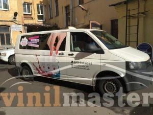 Оклейка авто для компании Миранда BEAUTY
