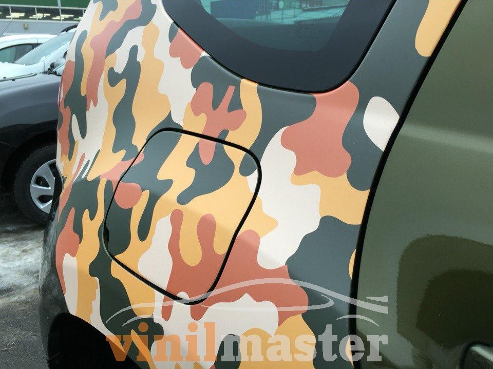 Оклейка Renault Duster