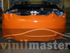 Брендирование авто для Прайм Финанс банк оклейка переднего бампера