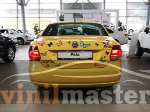 Volkswagen Polo SEDAN вид сзади