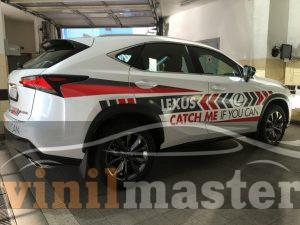 Брендирование Lexus NX правая боковина